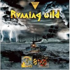Виниловая пластинка Running Wild – The Rivalry / Victory 2LP (19075938091)