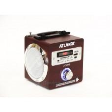 Портативная колонка Atlanfa АТ-R62