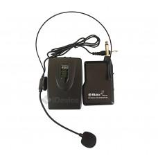 Радиомикрофон головной, беспроводная гарнитура Max WM-707