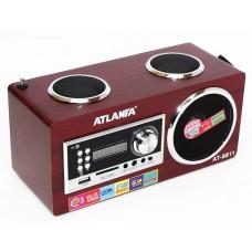 Радиоприемник - портативная колонка Atlanfa АТ-8811
