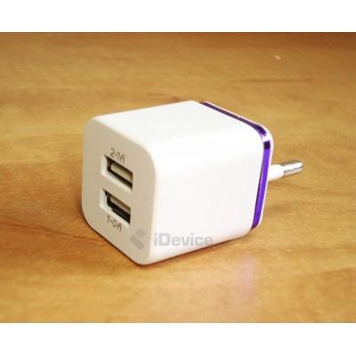 USB адаптер 5V 2A и 1A.