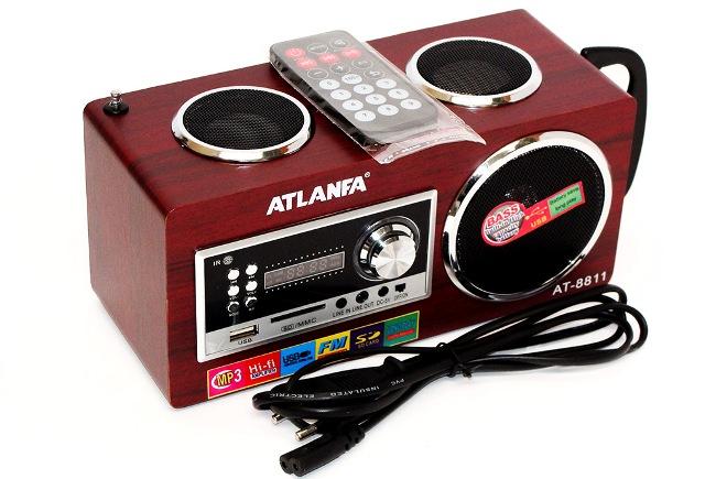 Портативная колонка Atlanfa АТ-8811 USB SDcart FM - фото AT-8811%20USB.jpg